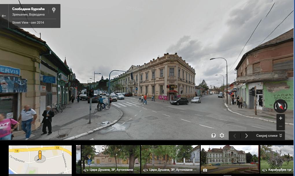 Centar grada Google street view