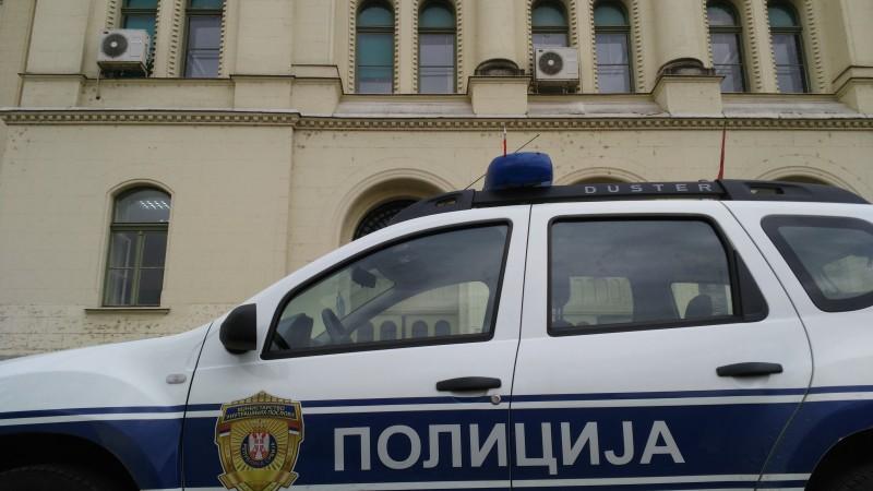Policija ispred suda foto Dragan Prvulović