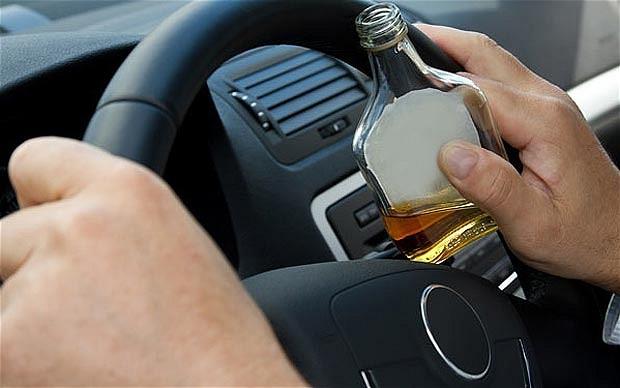 Alkohol i vožnja britanski telegraf