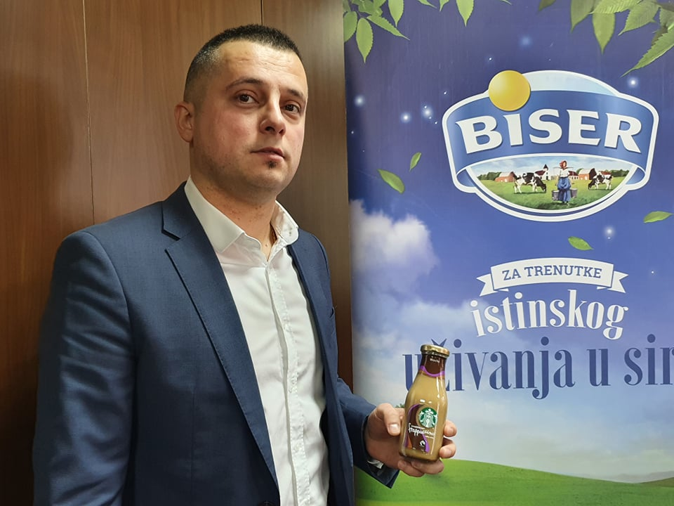 Komercijalni direktor kompanije Mlekoprodukt Mišo Vojinović
